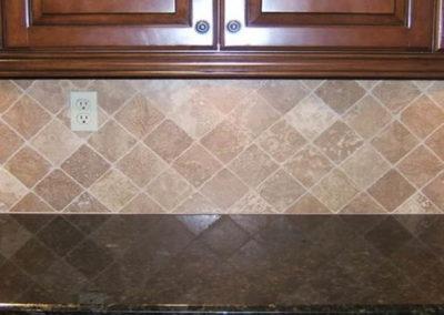 Kitchen Countertop Backwash