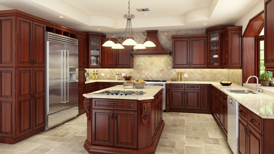 Attirant Kitchen Cabinets And Remodel