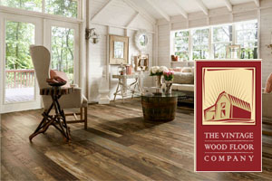 Vintage hardwood floors installation in OC