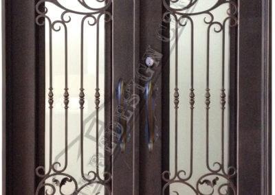wrought Iron Door Laguna Beach