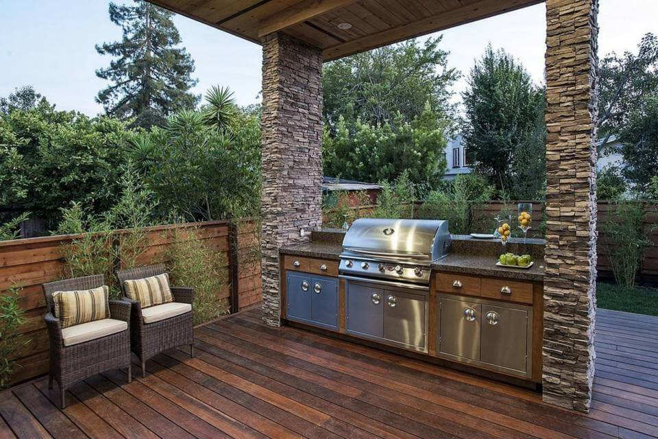 Outdoor Kitchen in Orange county