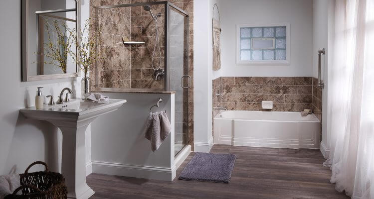 It is extremely easy to get excited about remodeling a bathroom